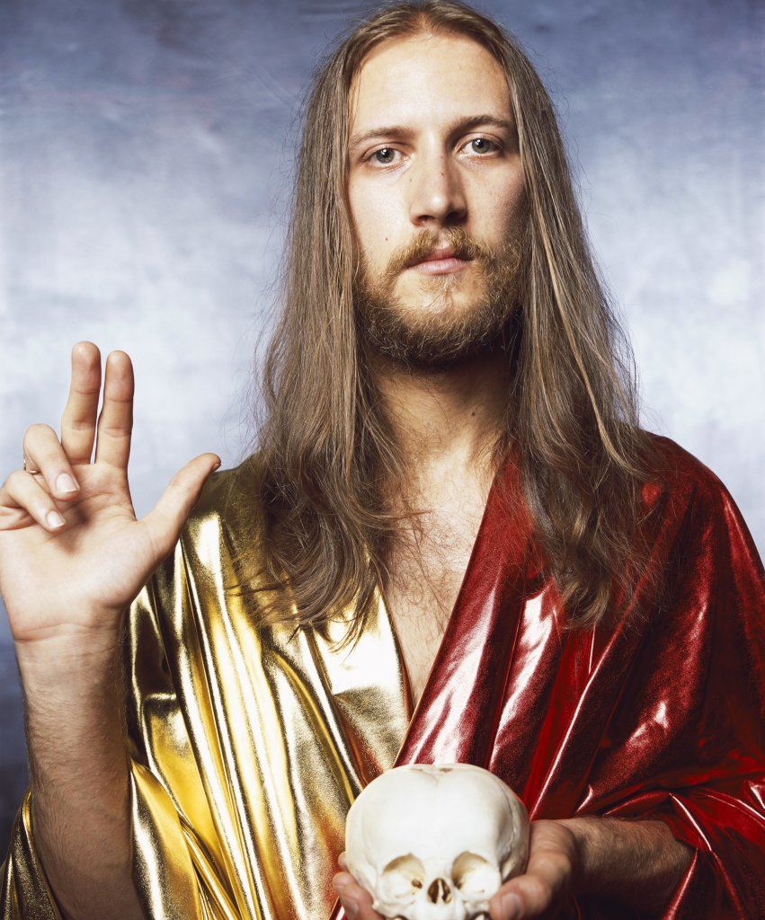 Andres Serrano, Salvator Mundi (Holy Works), 2011