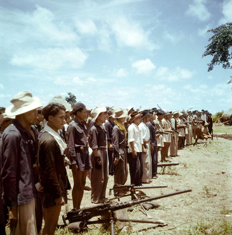 auxilaires indochinois de l'armée française - Guerre d'Indochine, studio willy rizzo