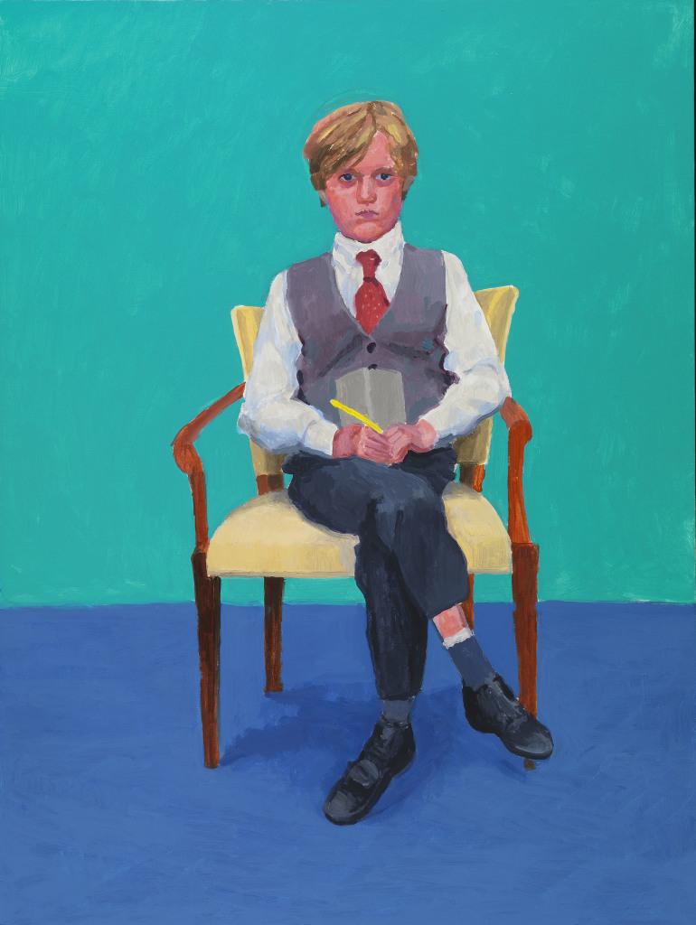 David Hockney, Rufus Hale, 23rd, 24th, 25th November 2015