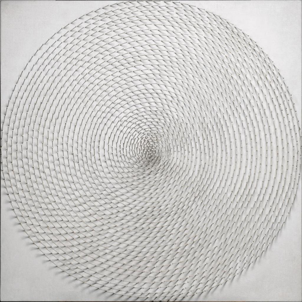 Günther UECKERSpirale III, 1968, Dusseldorf mon amour, CCCOD
