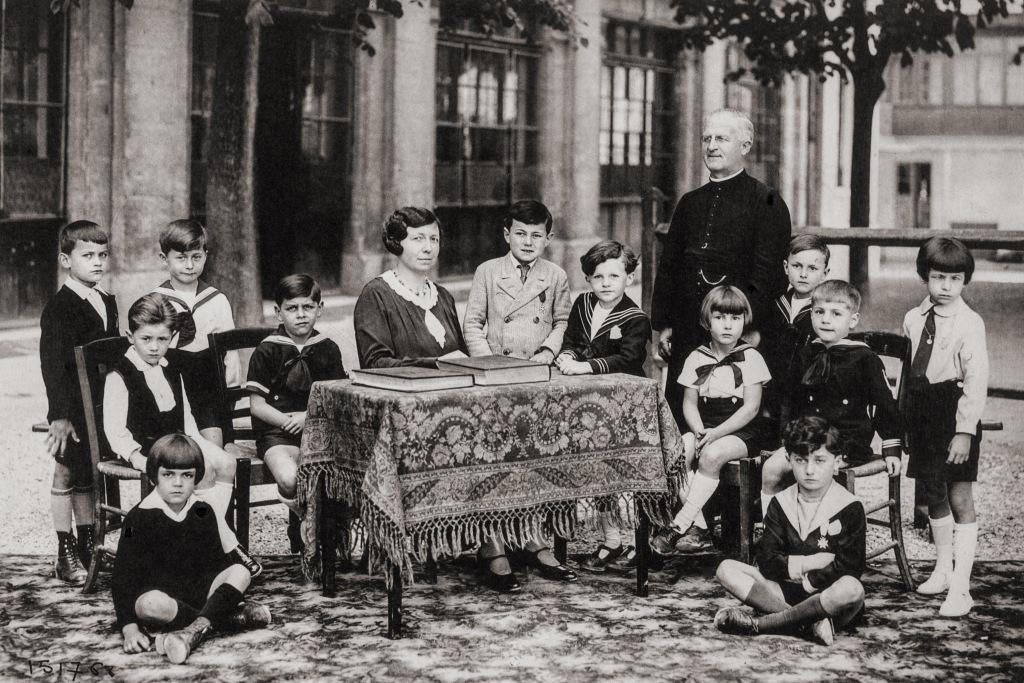 École Saint-Paul à Angoulême, album Tourte et Petitin, 1932-1933