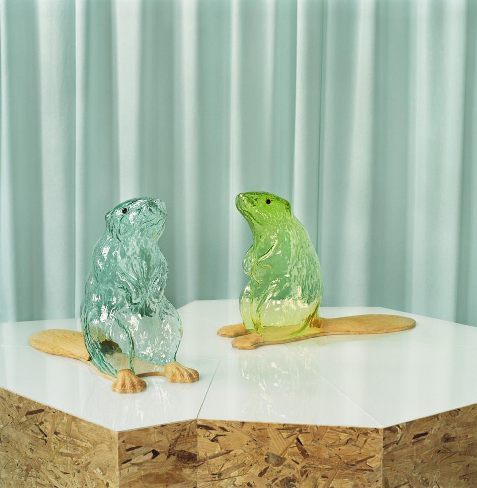 Frida Fjellman bävrar. Photo Cathtine Edvall, Next level craft, Institut Suédois