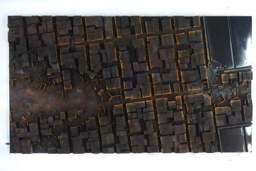 TanDEM-X, 2017, Hendrik CZAKAINSKI, Galerie Wallworks