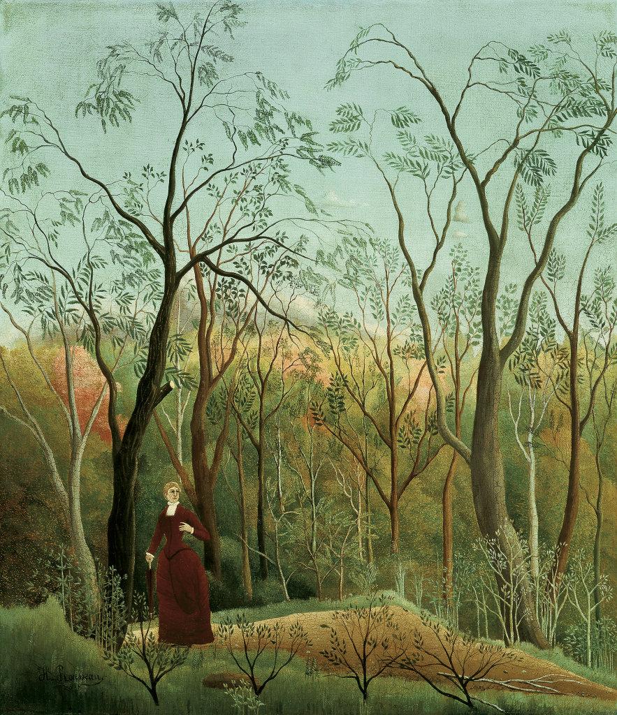 Henri Rousseau, La Promenade dans la forêt, vers 1886