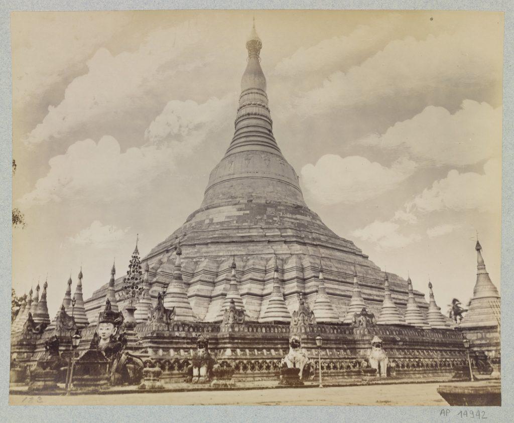 Jackson & Bentley ou Philip Adolphe Klier, Sans titre, La Shwedagon, Yangon
