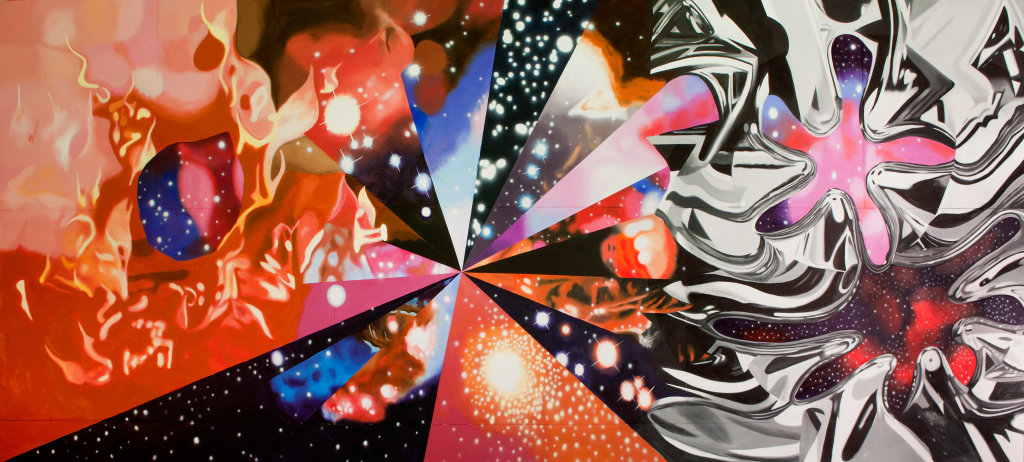 James Rosenquist, The Geometry of Fire, 2011