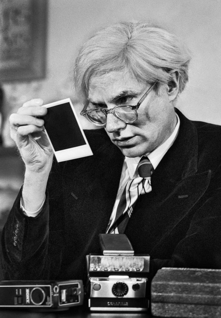 Andy Warhol New York, 1974, Un français à New-York, Galerie de l'Instant