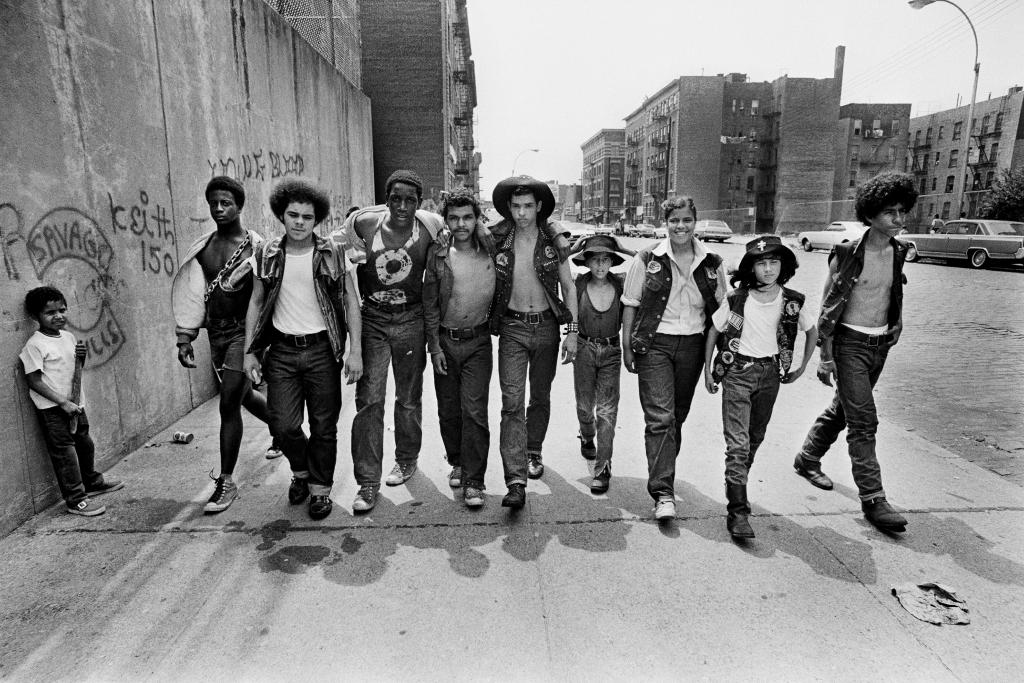 Gang des Savage Skulls Bronx, New York, 1972, Un français à New-York, Galerie de l'Instant