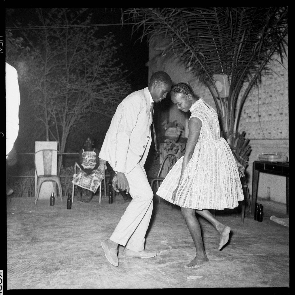 Malick Sibidé, Nuit de Noël (Happy-club), 1963 - Malick Sibidé, Mali Twist à la Fondation Cartier pour l'art contemporain