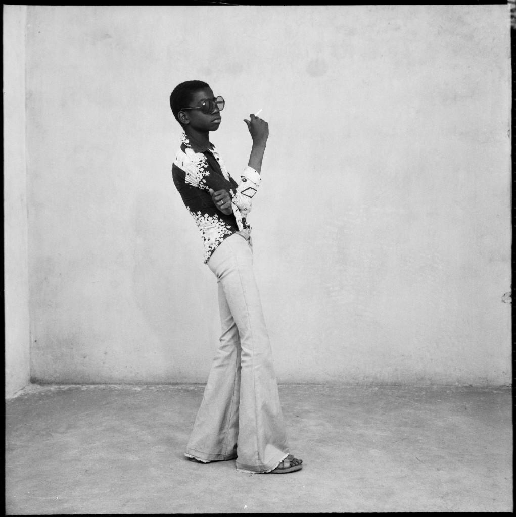 Malick Sibidé, Un Yé-yé en position, 1963 - Malick Sibidé, Mali Twist à la Fondation Cartier pour l'art contemporain