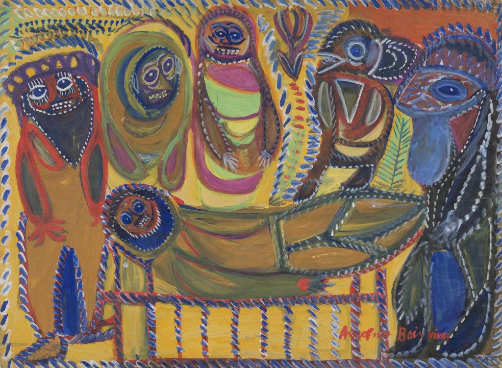 Anselme Boix-Vives, La Mise au tombeau, 1964