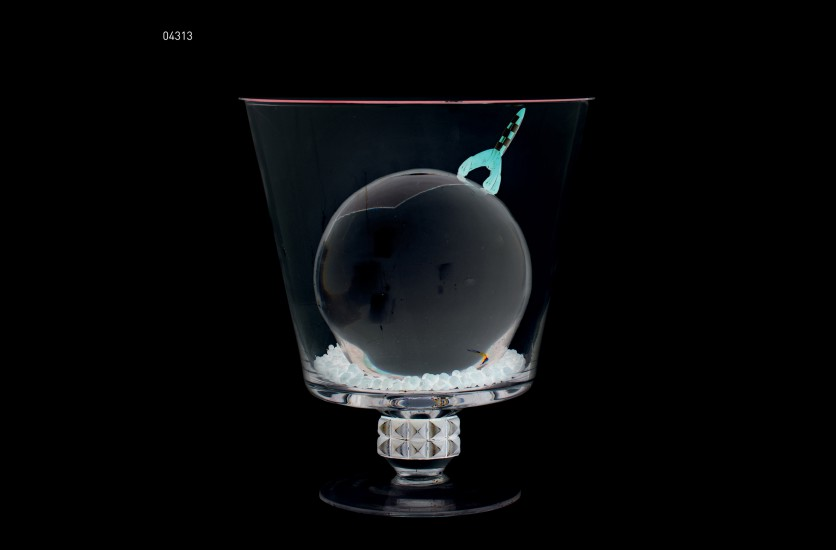 Piero Livio, DM-04313, I pesce e le spezie seccate al sole di Allegranza, version noire, 2010