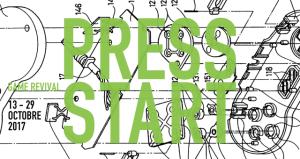 Press Start 2017 Game Revival - Centre Pompidou - Salon jeux vidéo de la Bibliothèque publique d'information