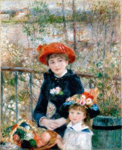 Renoir, les deux soeurs, trump, expo in the city