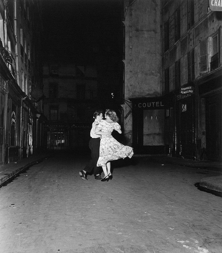 Robert Doisneau, La dernière valse du 14 juillet, Paris, 1949