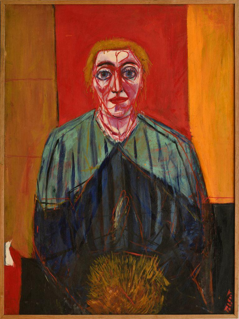 La Tal Coat, Femme au manchon, 1936