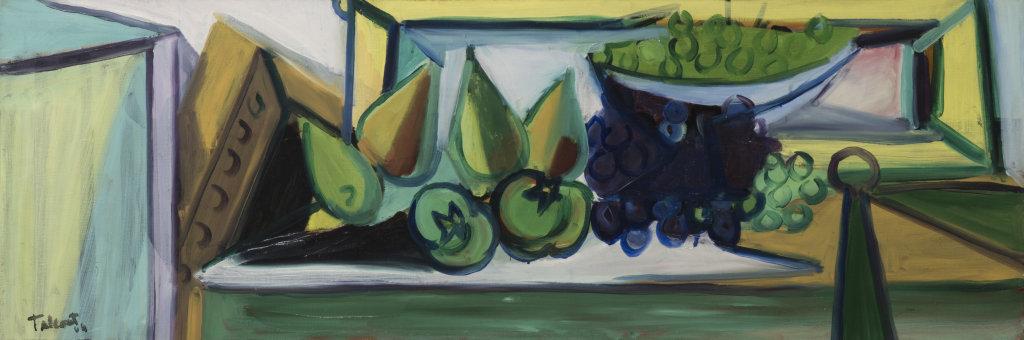Tal Coat, Nature morte (pommes et poires), 1944