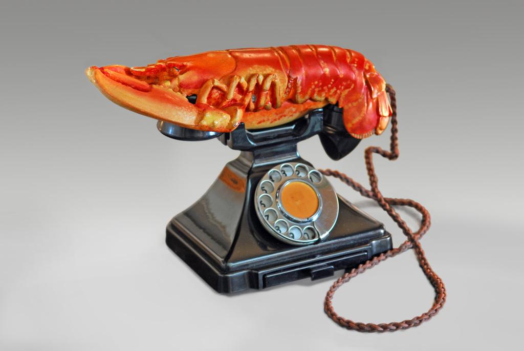 Salvador Dalí and Edward James, Lobster Telephone (red), 1938