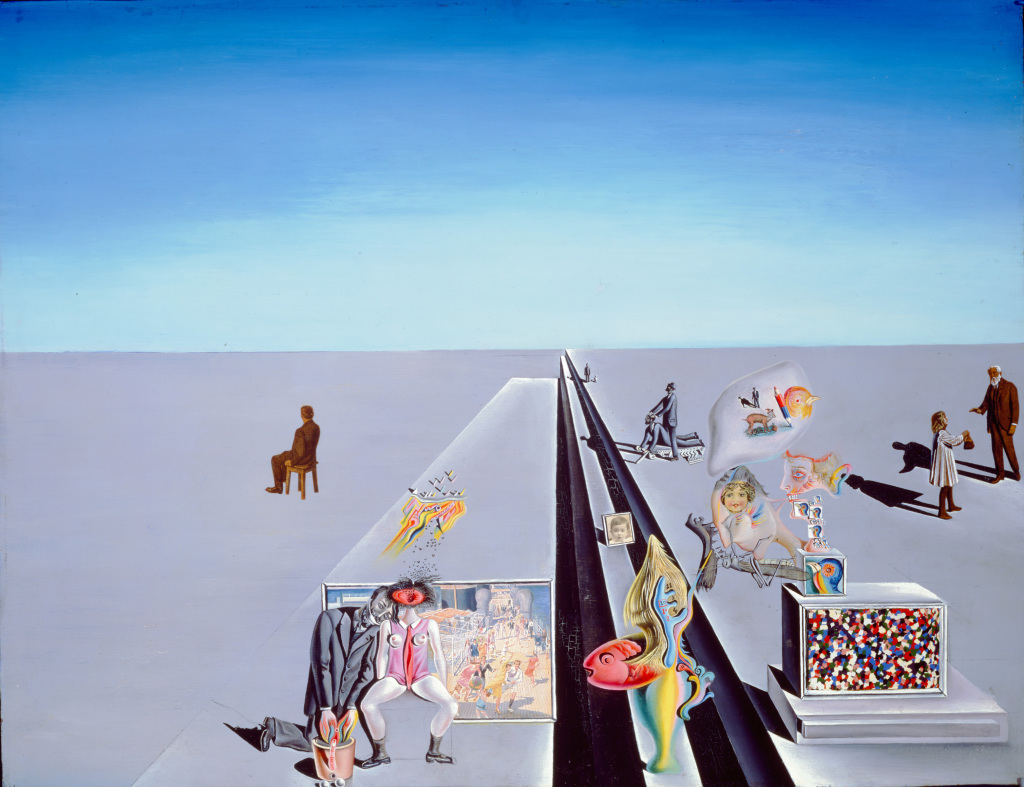 Salvador Dalí, The First Days of Spring, 1929
