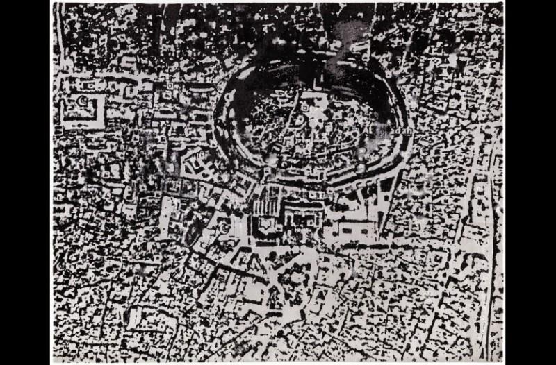 Série Tapis, Alep, 2014, Courtesy Galerie Mitterrand