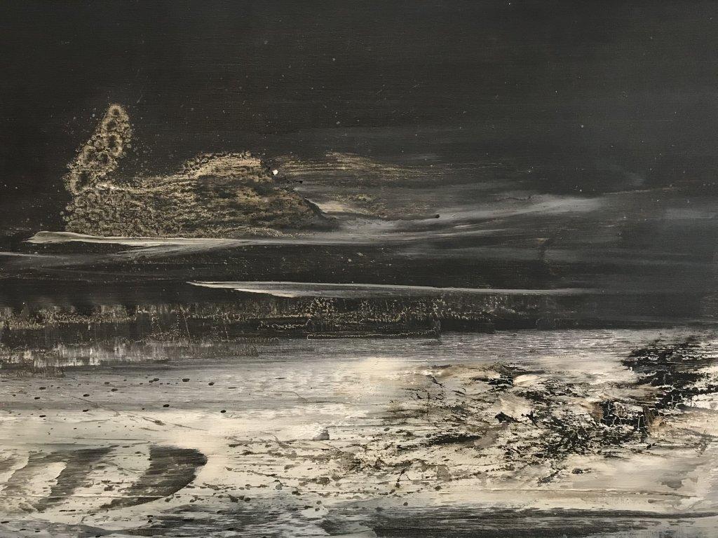 Vue de l'exposition Zao Wou-Ki - Musée d'Art Moderne de la Ville de Paris