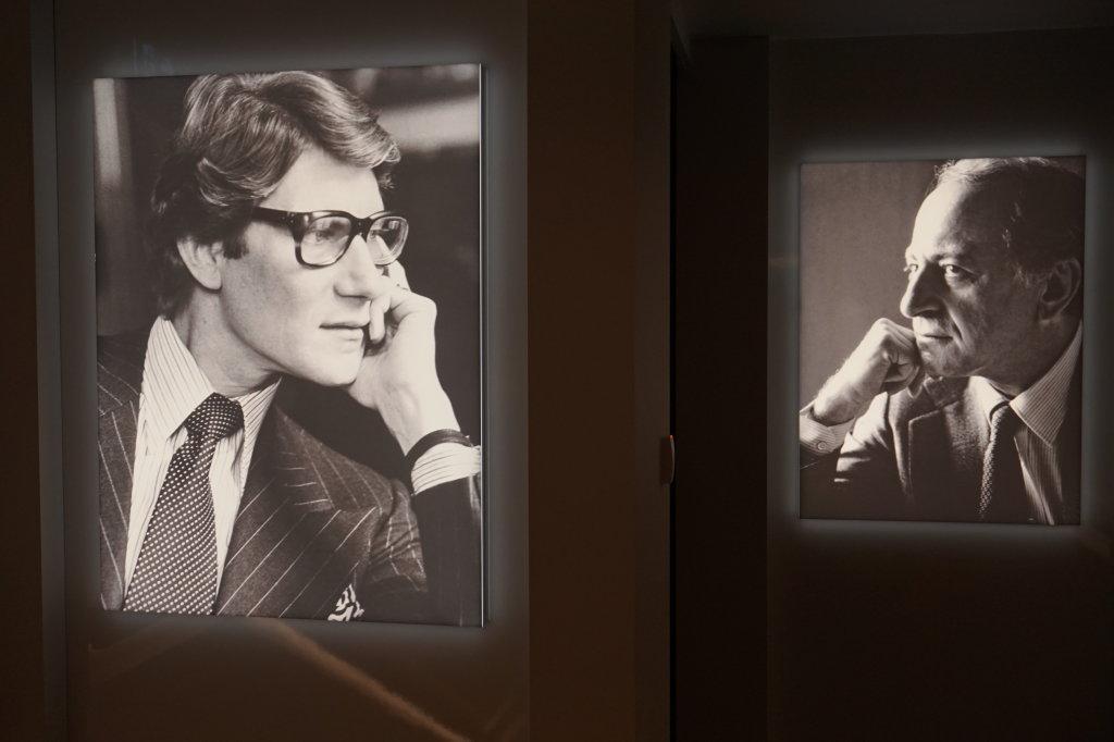 Vue du Musée Yves Saint Laurent Paris