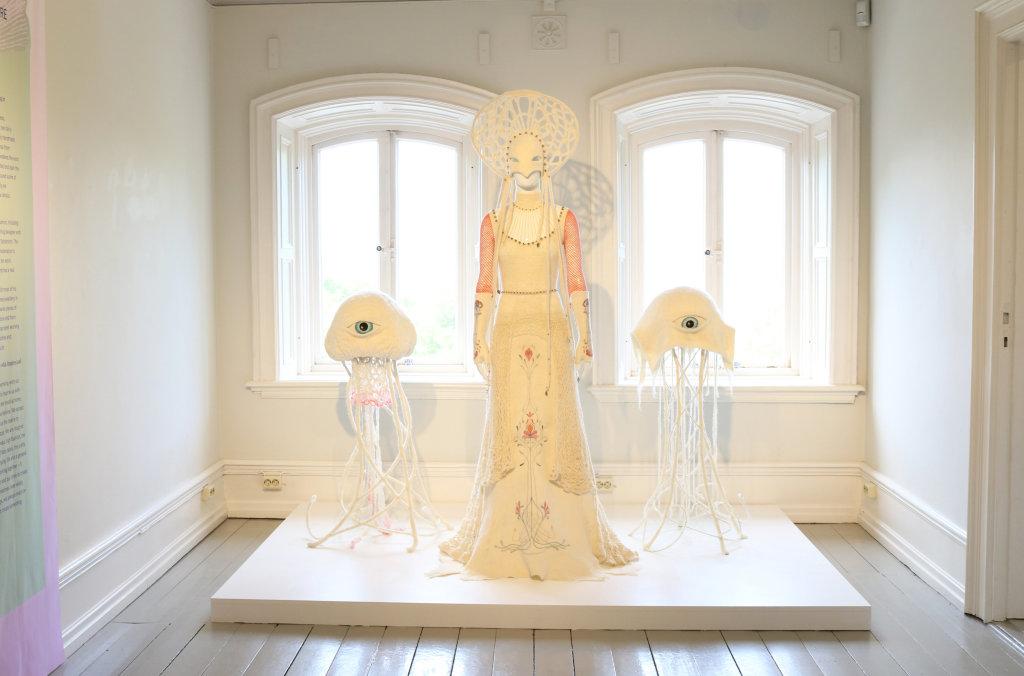 Woolgoddess NLC Johanna Hofring and Tor Söderin, Next level craft, Institut Suédois