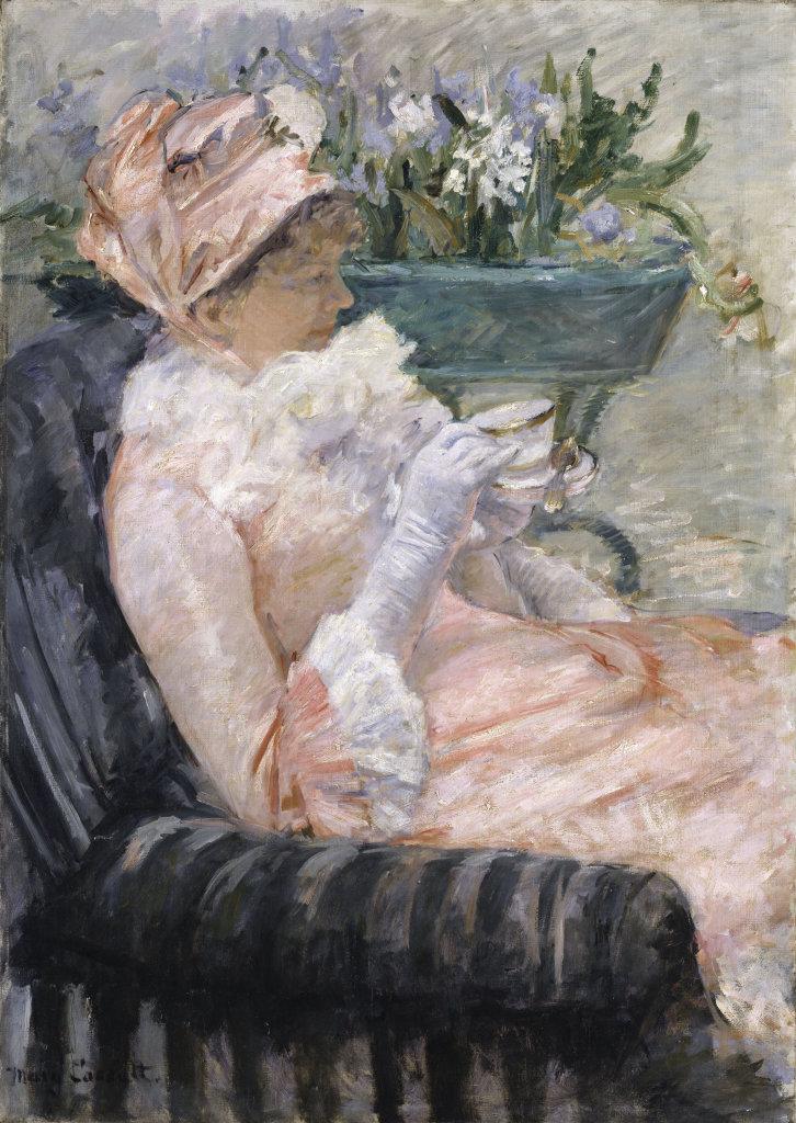 Mary Cassatt - La tasse de thé
