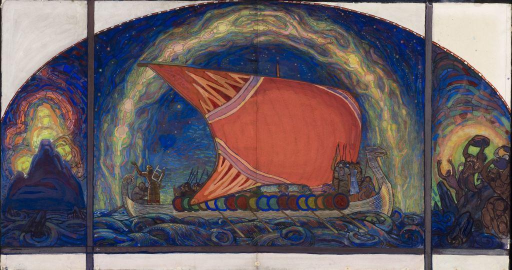 02. Nikolai Triik_Lennuk, le bateau de Kalevipoeg