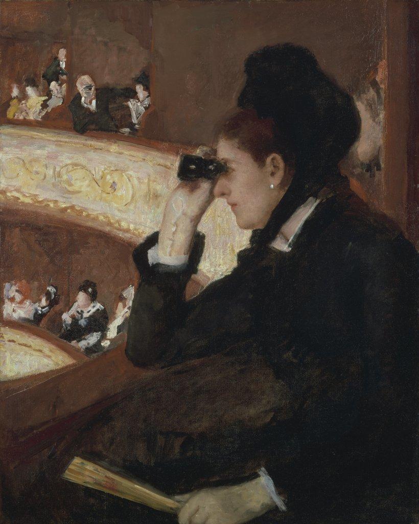 Mary Cassatt (1878) In the Loge