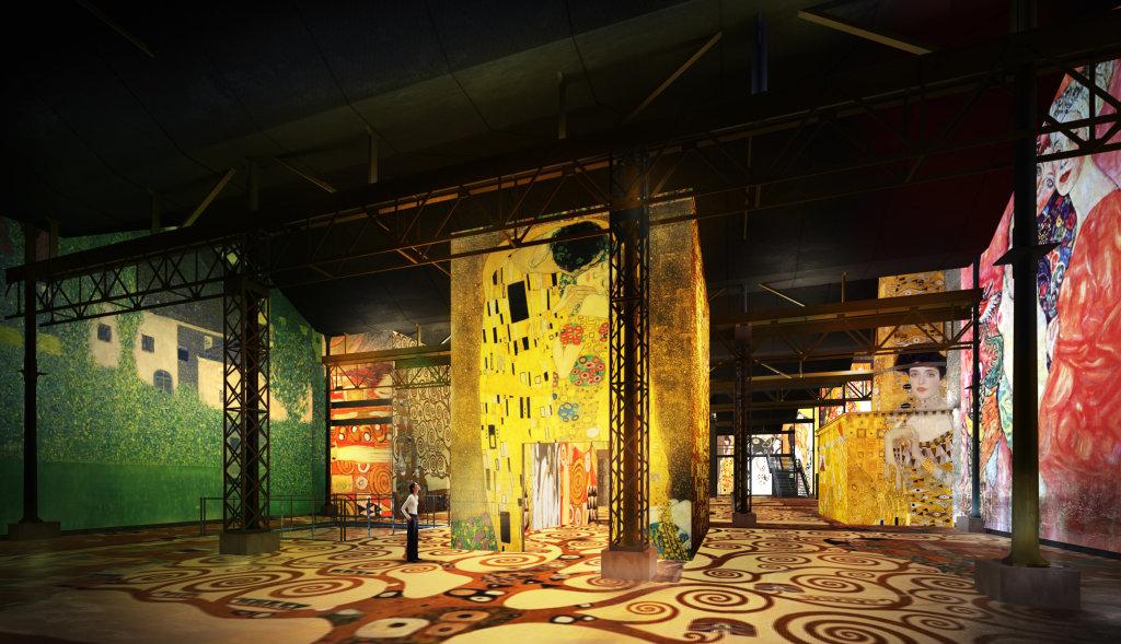 Simulation Klimt et Schiele. La Sécession à Vienne – Atelier des Lumières
