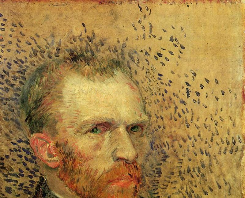 06. Les Hollandais à Paris - Van Gogh, Autoportrait