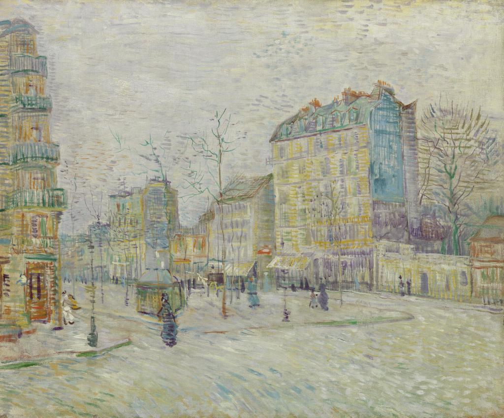 07. Les Hollandais à Paris - Van Gogh, Le Boulevard de Clichy