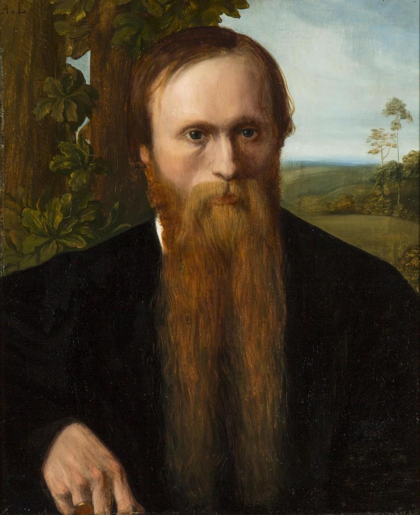 Alphonse Legros, Eward Burne-Jones, 1868-1869