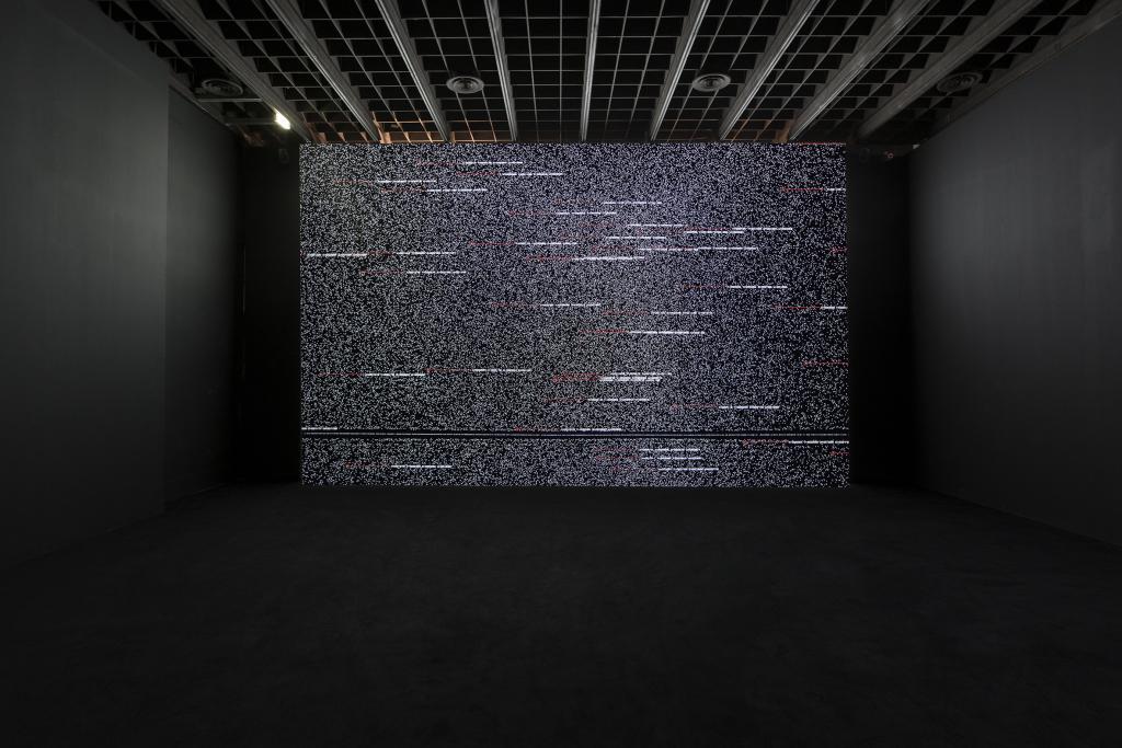 Ryoji Ikeda, Data.tron [WUXGA version], 2011.