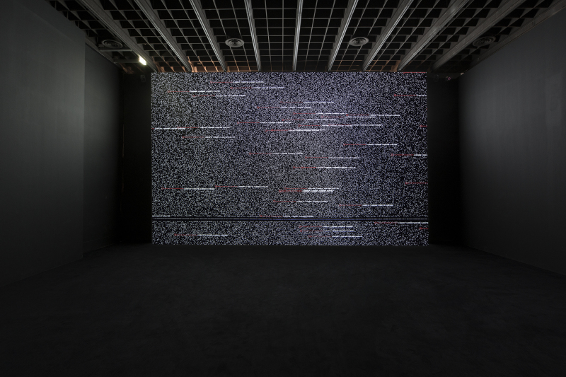 Ryoji Ikeda, Data.tron [WUXGA version], 2011.