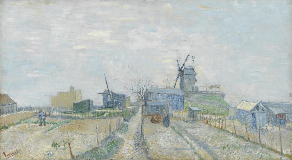 08. Les Hollandais à Paris - Van Gogh, Les moulins de Montmartre