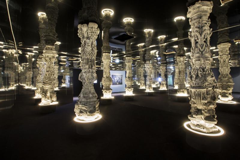 Michael Hansmeyer, Astana Columns, 2017.