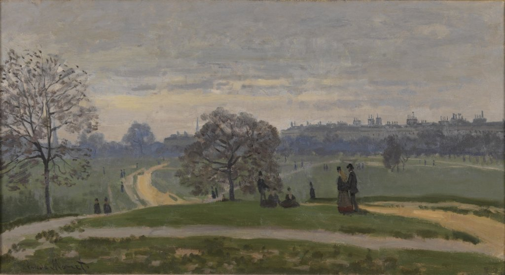 Claude Monet, Hyde Park, 1871