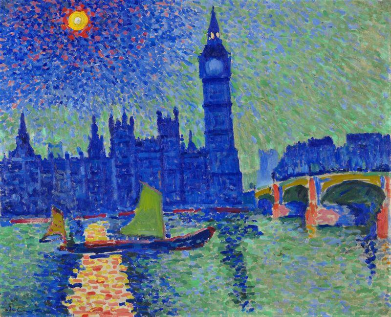André Derain, Big Ben, Londres, huile sur toile, 1906