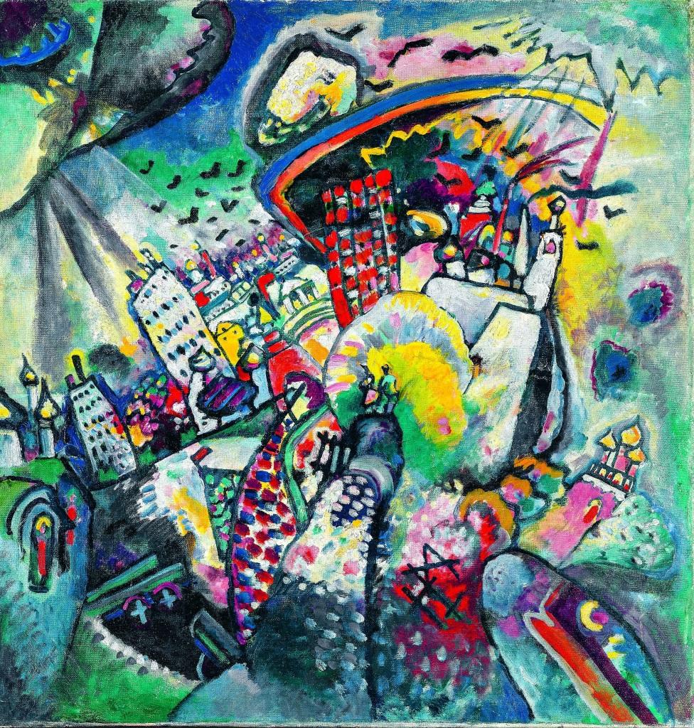 20 Vassily Kandinsky Moscou la Place Rouge 1916