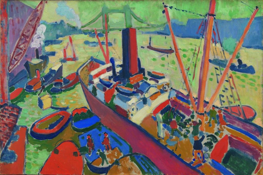 André Derain, Le Bassin de Londres, 1906