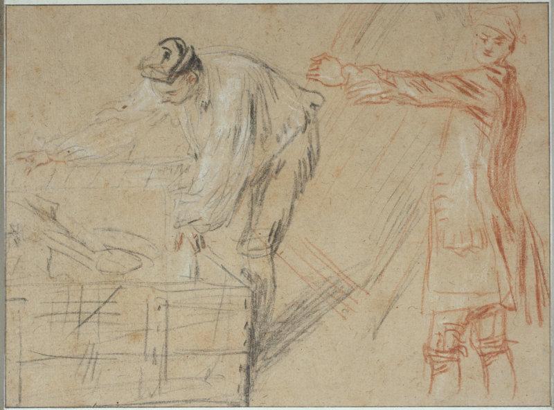 Jean-Antoine Watteau (1684-1721).