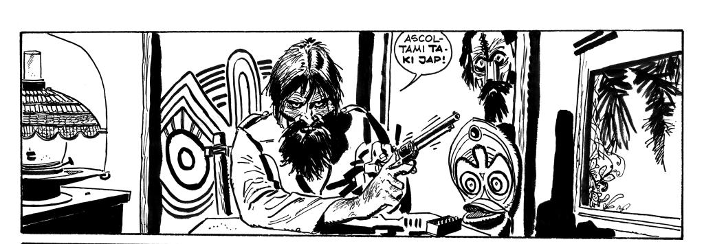 « Corto Maltese. La ballade de la mer salée » d'Hugo Pratt (1967)