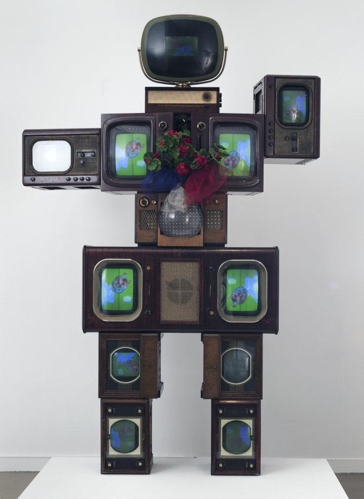 Nam June Paik, Olympe de Gouges, 1989.