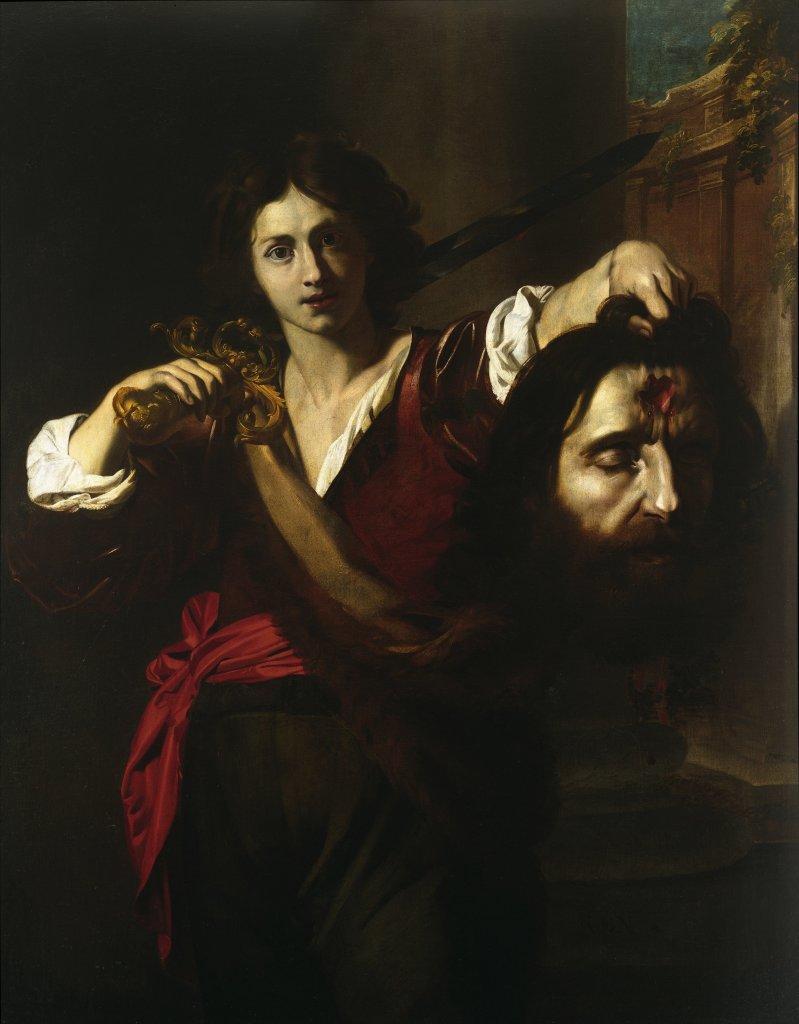 Nicolas Régnier, David triomphant tenant la tête de Goliath, Musée d'Art de Nantes