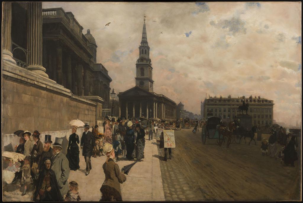 Giuseppe de Nittis, The National Gallery, 1877