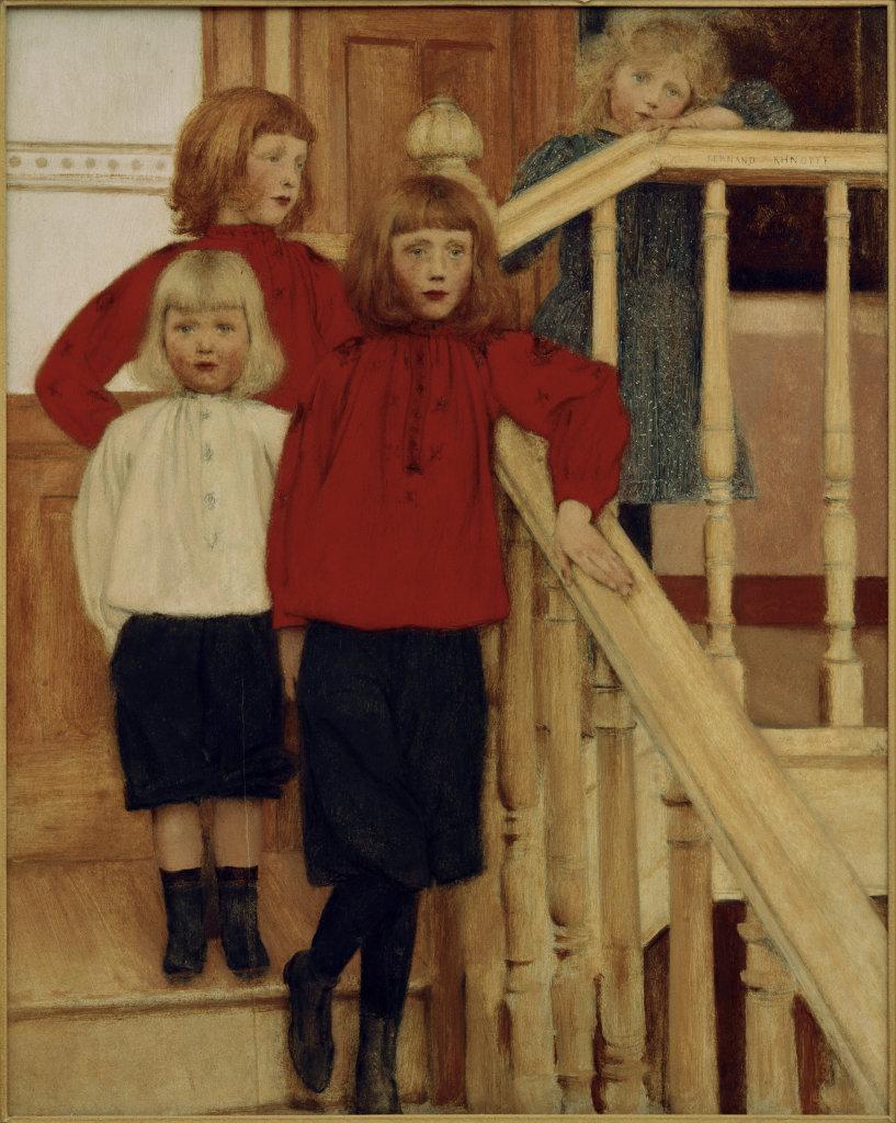 Khnopff, Kinder des Louis Nève