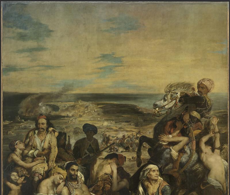 Delacroix Eugène (1798-1863). Paris, musée du Louvre. inv3823.