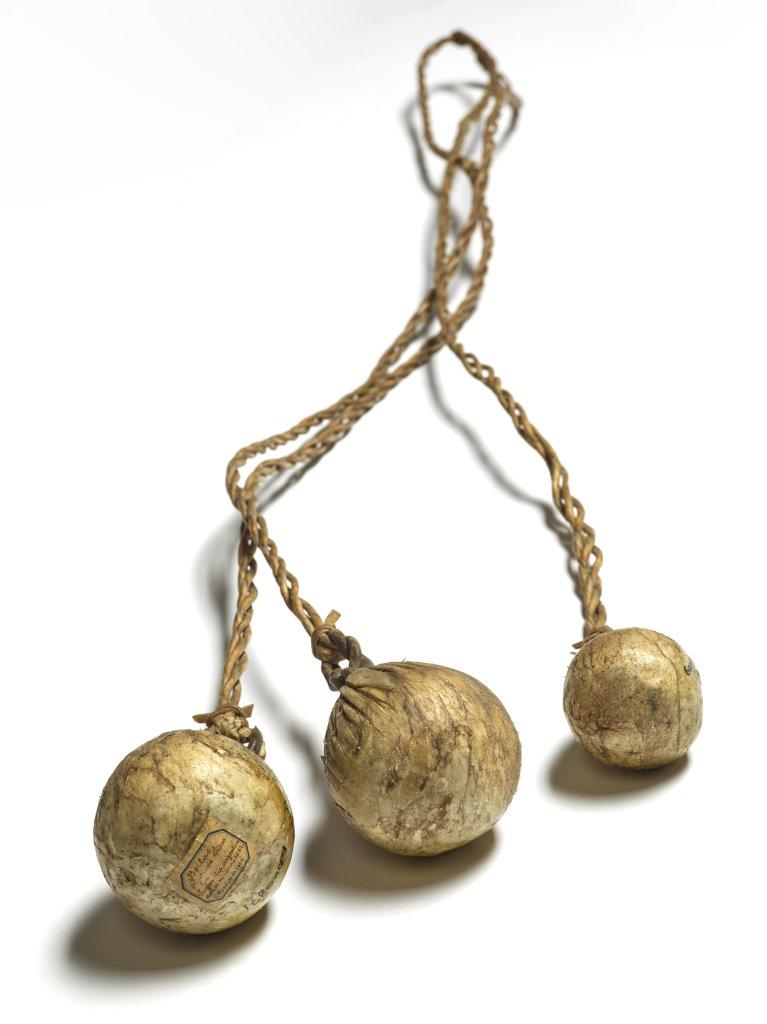 Lasso à boules (Argentine – XIXe siècle)